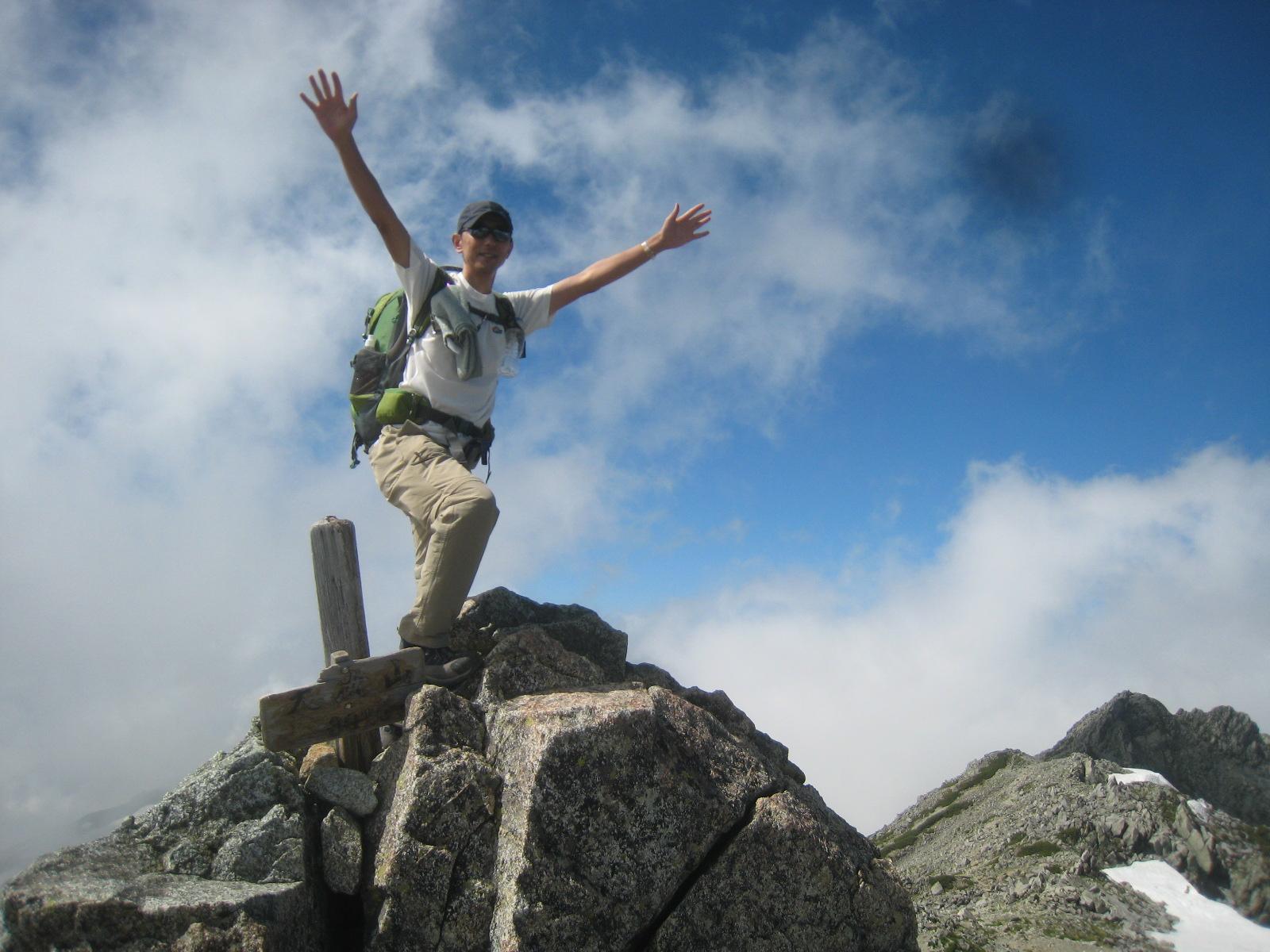 今年の夏山登山は立山縦走でした。_e0121558_23100817.jpg