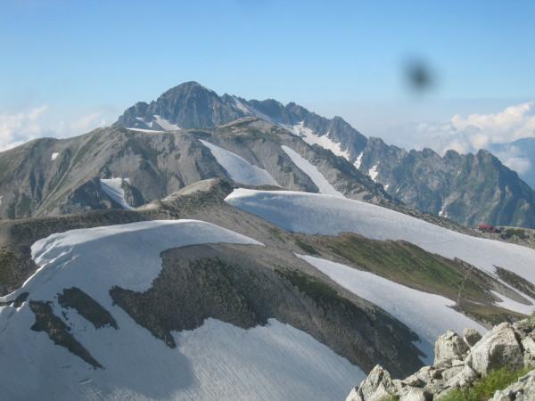 今年の夏山登山は立山縦走でした。_e0121558_23111603.jpg