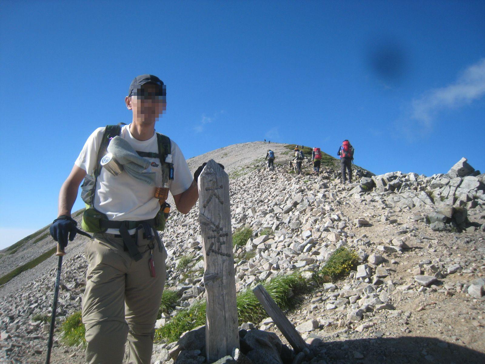 今年の夏山登山は立山縦走でした。_e0121558_23114986.jpg