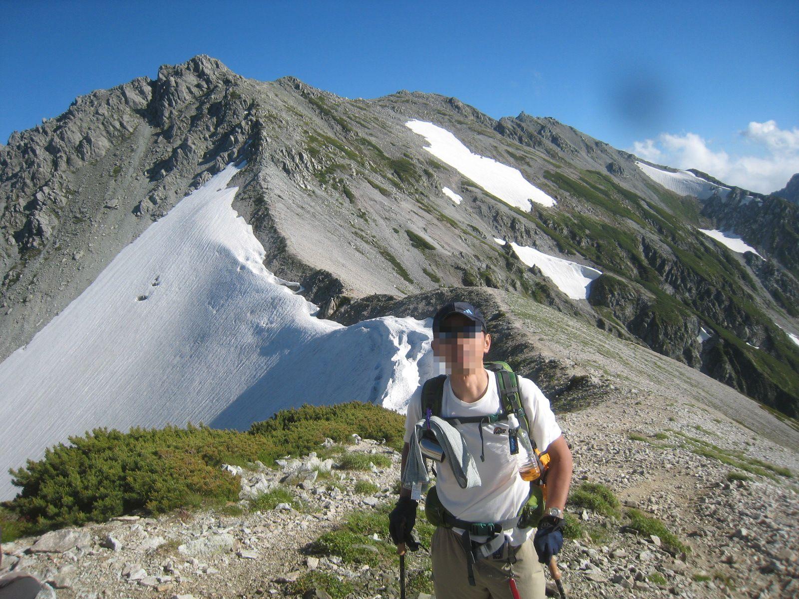 今年の夏山登山は立山縦走でした。_e0121558_23133897.jpg