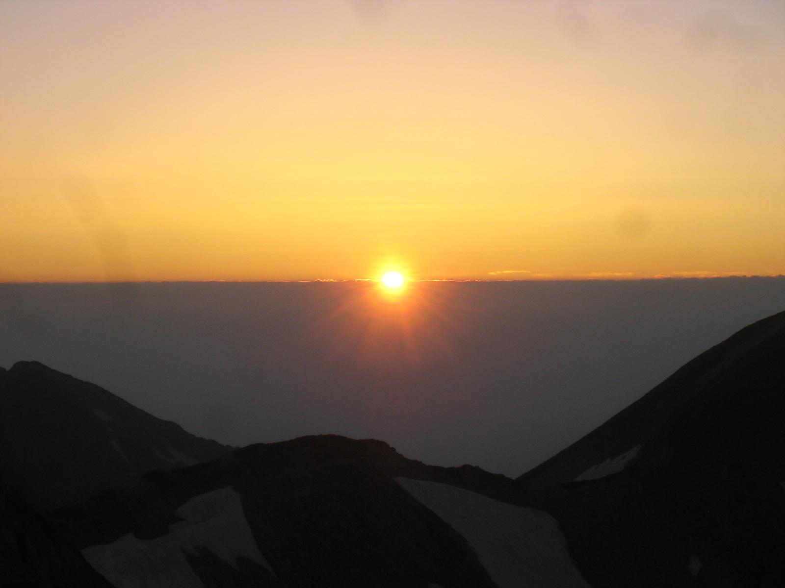 今年の夏山登山は立山縦走でした。_e0121558_23154233.jpg