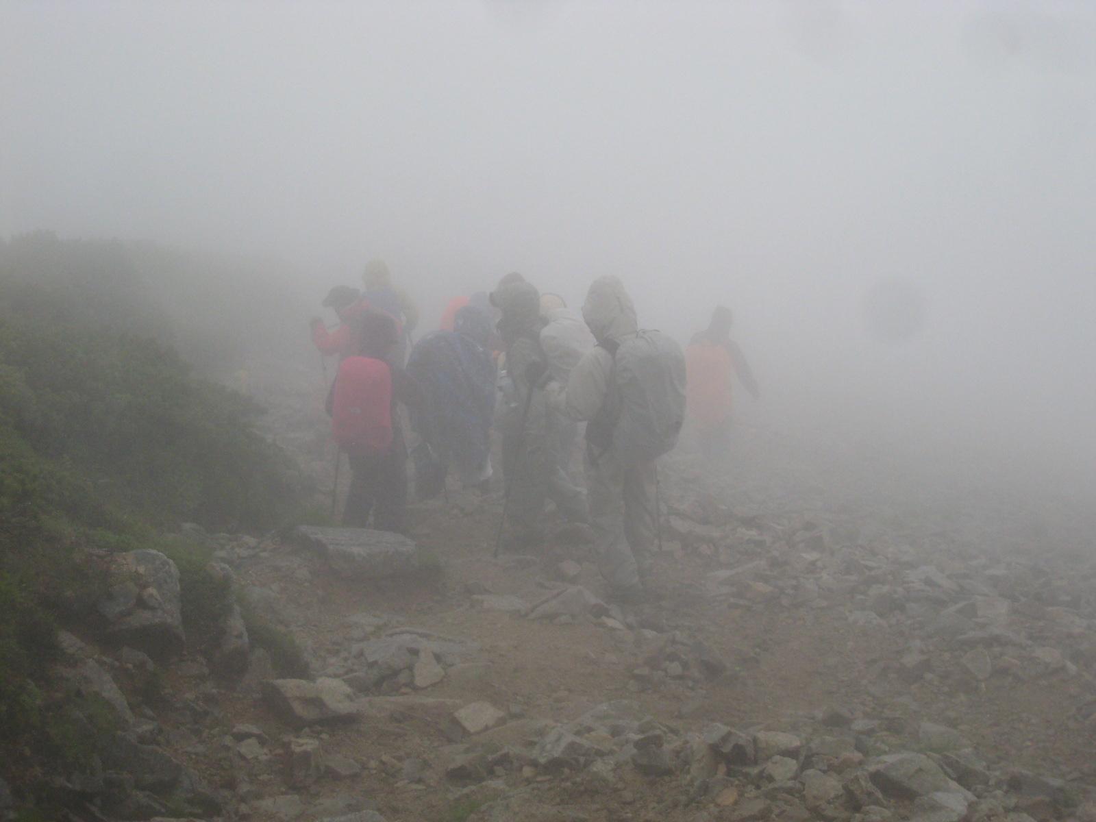 今年の夏山登山は立山縦走でした。_e0121558_23155544.jpg
