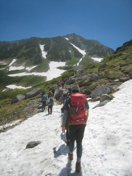 今年の夏山登山は立山縦走でした。_e0121558_23201520.jpg