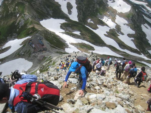 今年の夏山登山は立山縦走でした。_e0121558_23202501.jpg