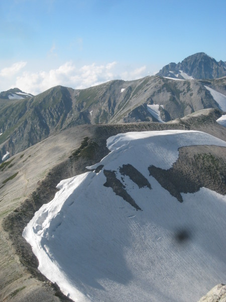 今年の夏山登山は立山縦走でした。_e0121558_23460410.jpg
