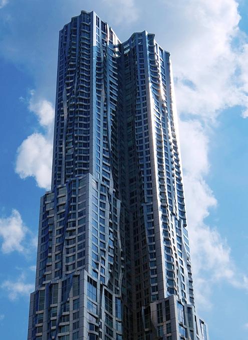 その名も「ゲーリーによるニューヨーク」(New York by Gehry)!? 巨匠建築家Frank Gehry氏の最新傑作建築_b0007805_2119435.jpg