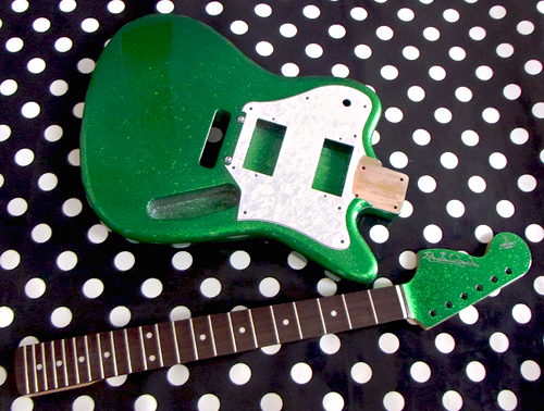「緑ラメのSuper Panic #005」の塗装が完了しました!_e0053731_15242068.jpg