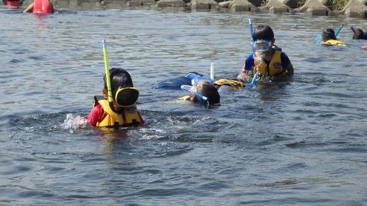 8月2日のきぬたまあそび村 多摩川で川遊び_c0120851_2325627.jpg
