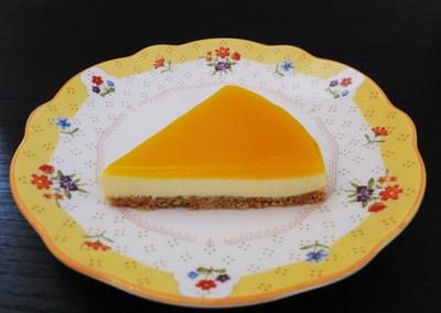 パッションフルーツのレアチーズケーキ!_a0161408_1917780.jpg