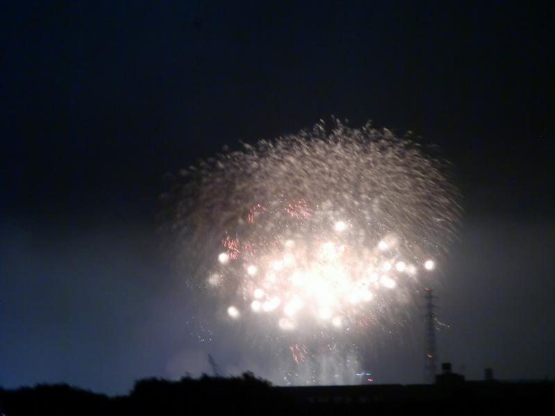 8月3日(土)  松戸市花火大会_d0278912_0415432.jpg