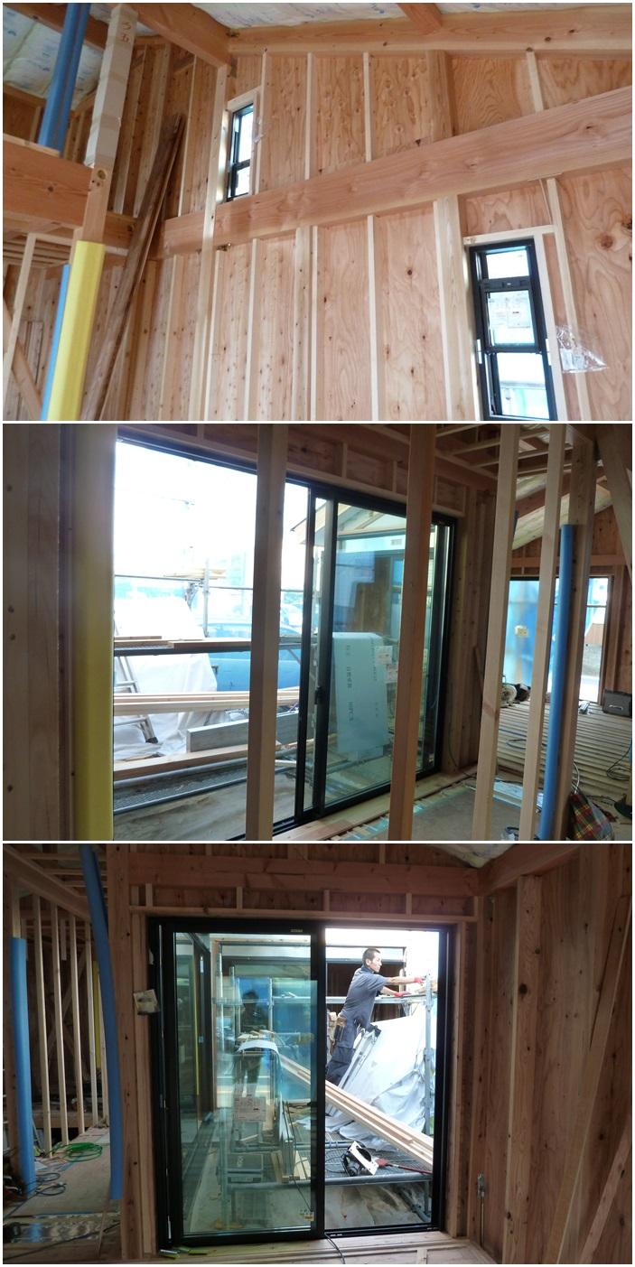 鎌倉の家☆床材を貼っています_c0152341_1011254.jpg