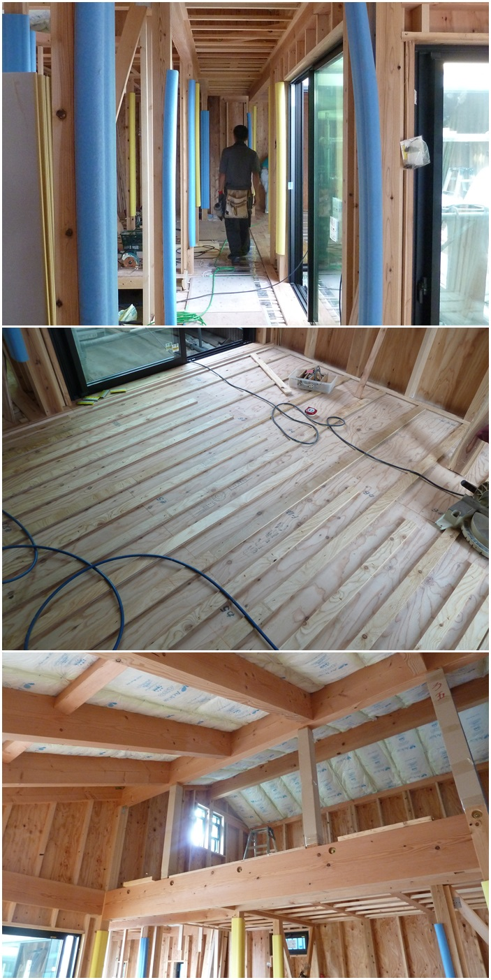 鎌倉の家☆床材を貼っています_c0152341_10114297.jpg