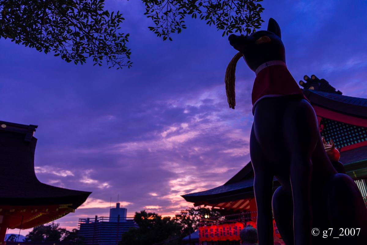伏見稲荷大社 宵宮祭 〜その2〜_f0152550_17542196.jpg