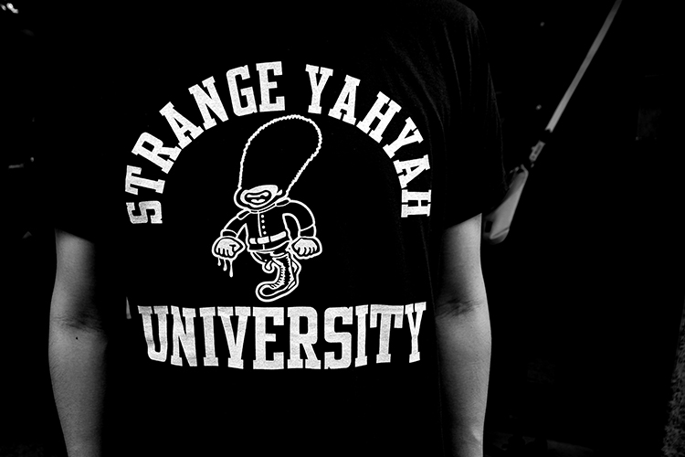 "STRANGE YAHYAH""LONDON BOY""VERSITY-shirt_e0325662_18183979.jpg"