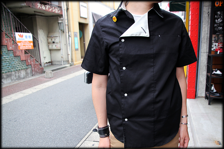 "DON'T DENY, GIVE IT A TRY!!"" ROLL-UP SHIRTS入荷しました_e0325662_19413959.jpg"