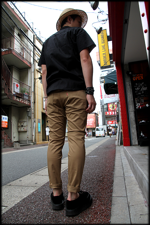 "DON'T DENY, GIVE IT A TRY!!"" ROLL-UP SHIRTS入荷しました_e0325662_19432904.jpg"