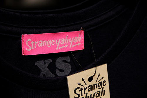 "STRANGE YAHYAH""LONDON BOY""VERSITY-shirt_e0325662_19544129.jpg"