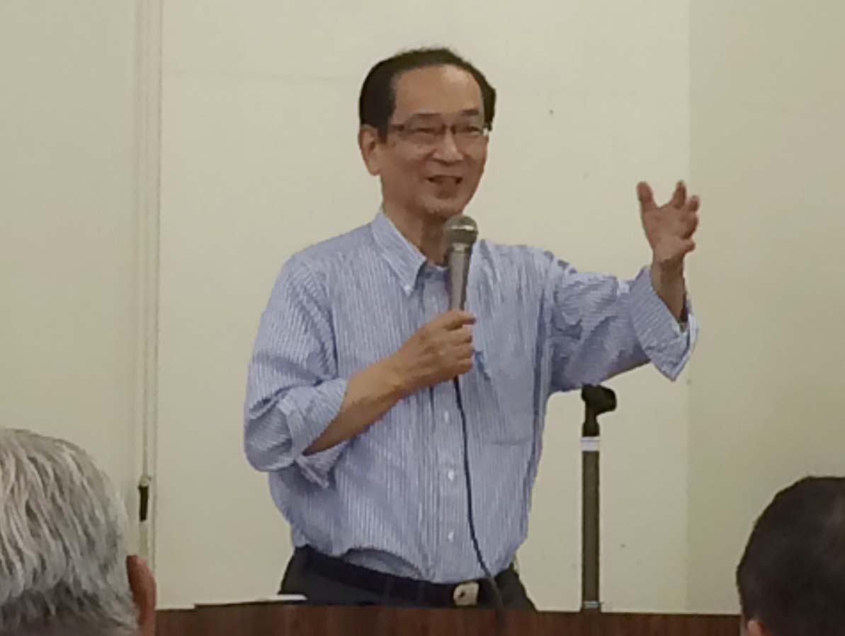 政務活動費問題:北川正恭氏のお話_c0052876_17373111.jpg