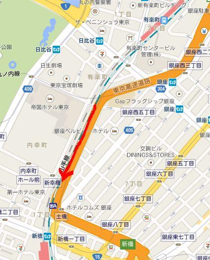 西銀座JRセンター_a0163788_12172683.jpg