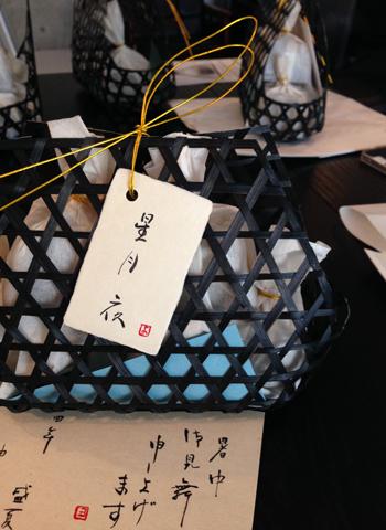 書と和菓子 「一六」のワークショップ_d0156336_0152726.jpg