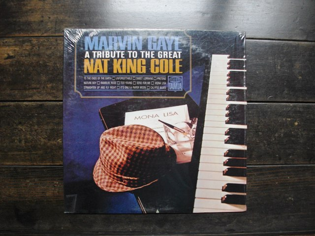 A TRIBUTE TO THE GREAT NAT KING COLE / MARVIN GAYE_e0230141_16115750.jpg