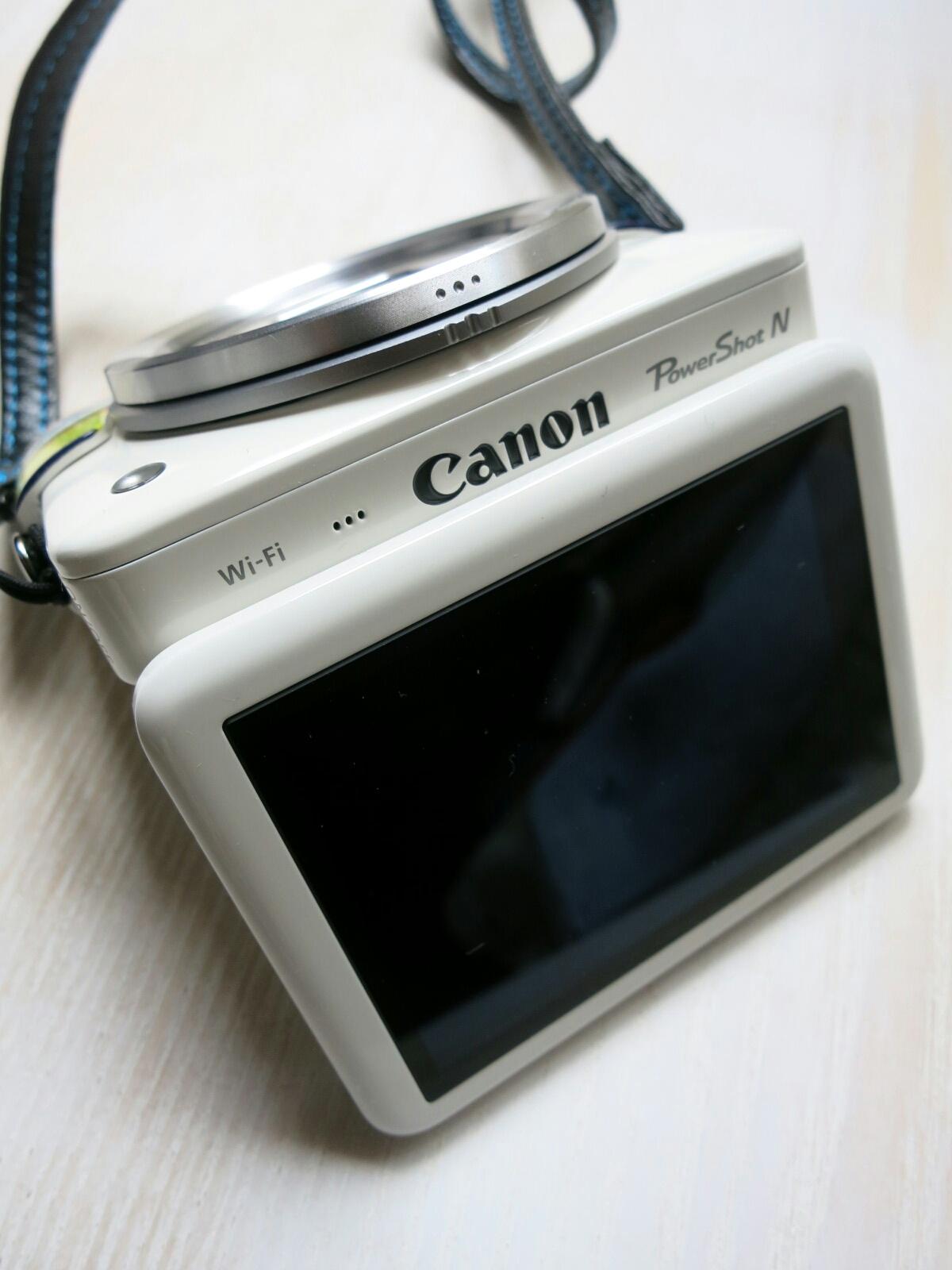 Canon Power Shot N ☆ いただきました!_f0236260_1223826.jpg