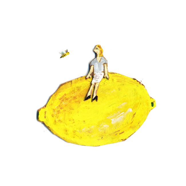 bee &  lemon_c0154575_12381393.jpg