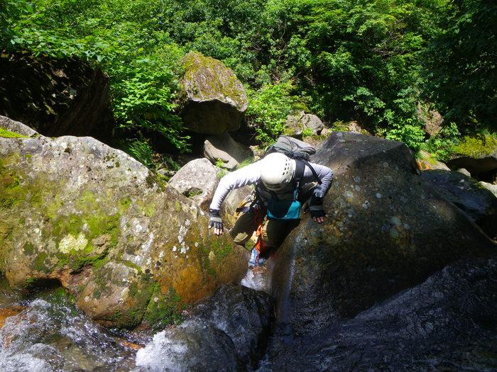 今期2度目の大滝沢 ~ 2014年8月3日_f0170180_21104265.jpg