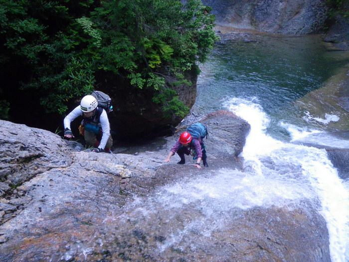 今期2度目の大滝沢 ~ 2014年8月3日_f0170180_211163.jpg