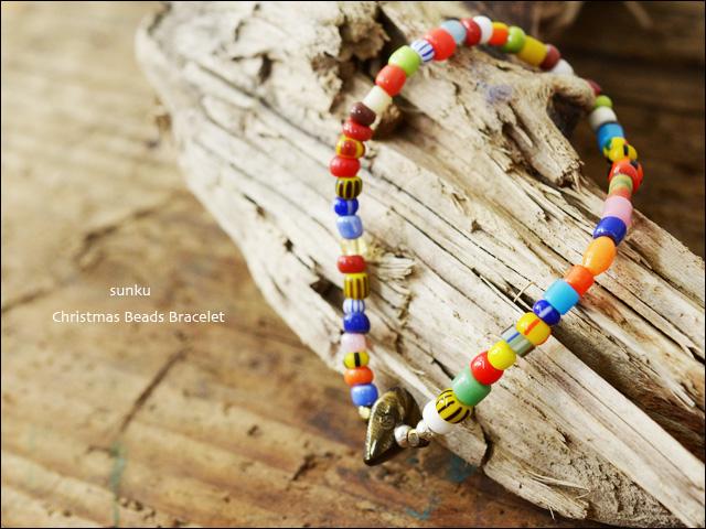 Sunku 39 [サンク] Christmas Beads Bracelet/クリスマスビーズブレスレット [SK-003]_f0051306_16561829.jpg