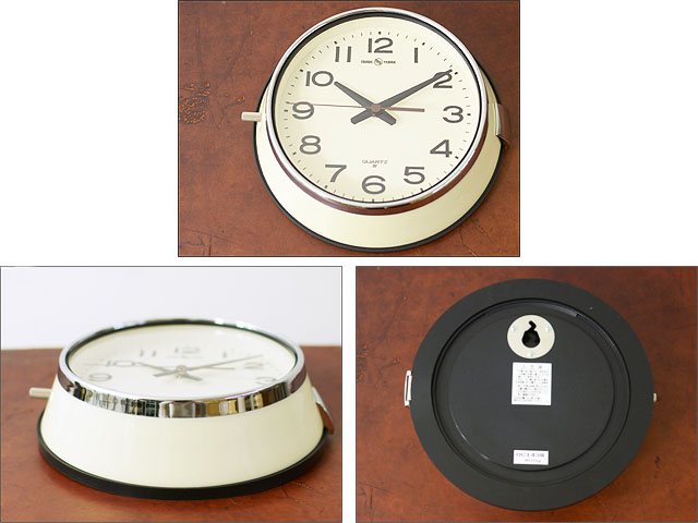 PACIFIC FURNITURE SERVICE [パシフィックファニチャーサービス]WALL CLOCK[OC143W,N,S]_f0051306_19434584.jpg