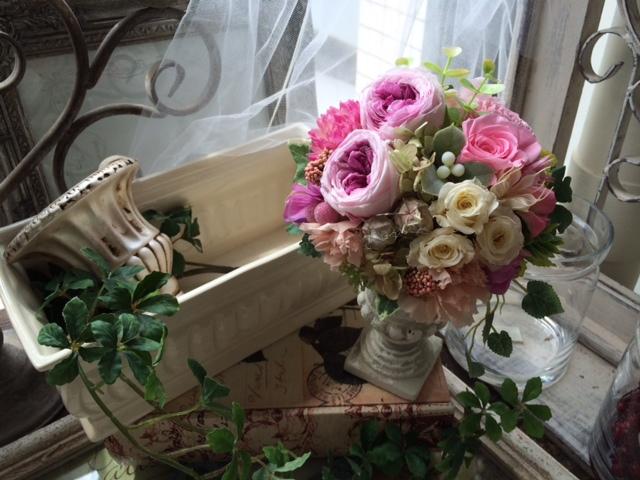 ご結婚お祝いの贈り花_e0128024_1232127.jpg