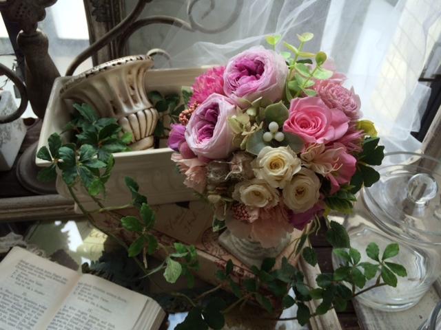 ご結婚お祝いの贈り花_e0128024_1232161.jpg