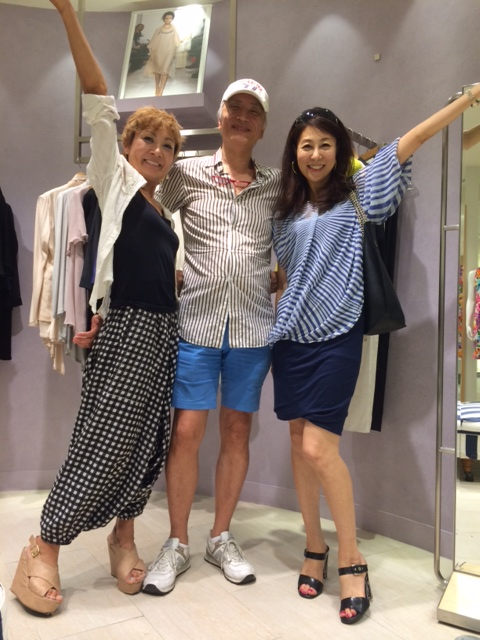 ファッション業界のビッグネーム四方義朗先輩と嬉しい再会♪ _a0138976_12344755.jpg
