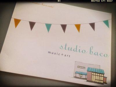 studio bacoさん♡_a0127284_14184227.jpg