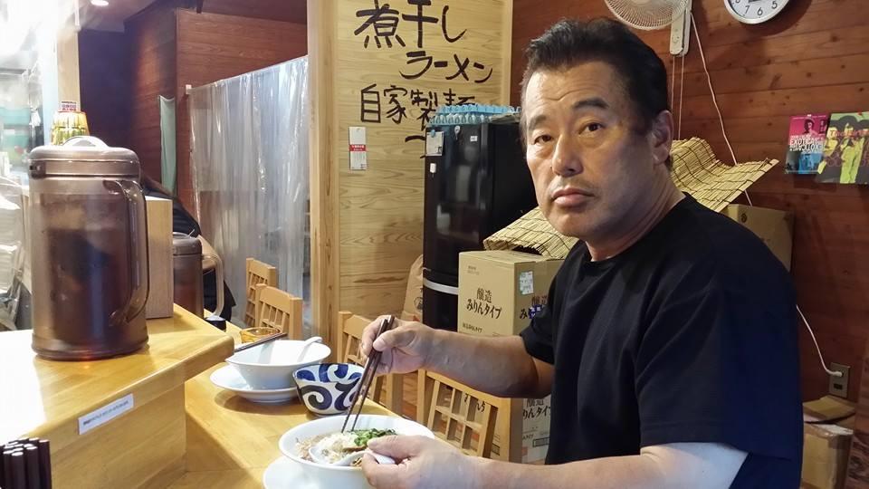 愛宕に出来た「煮干しラーメン」にチャレンジ!_c0186691_0131356.jpg