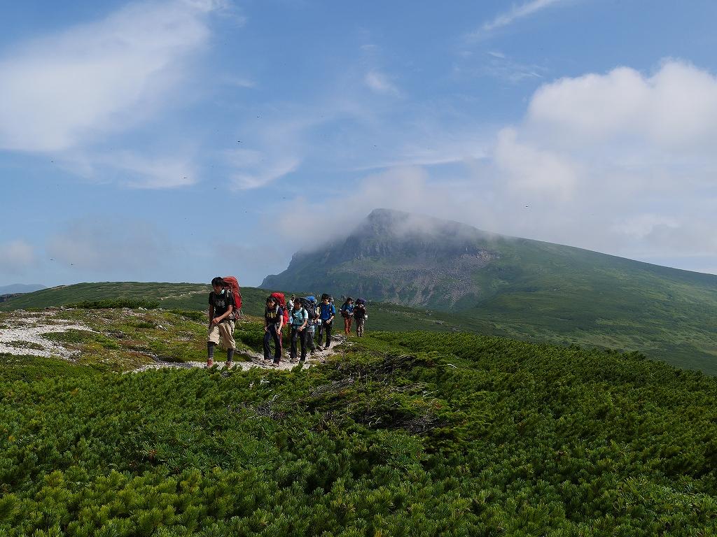 五色岳と忠別岳、8月2日-五色岳から忠別岳編-_f0138096_22575056.jpg