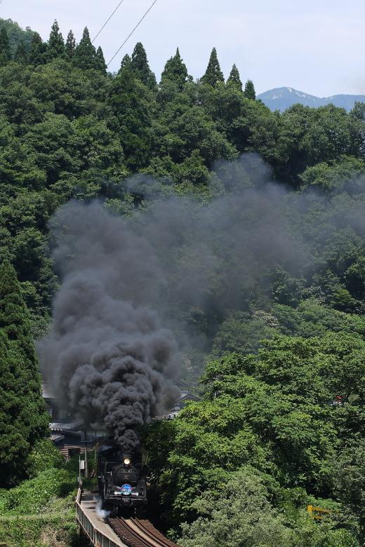 シゴナナの夏、煙の夏 - 2014年盛夏・磐西 -  _b0190710_1274630.jpg