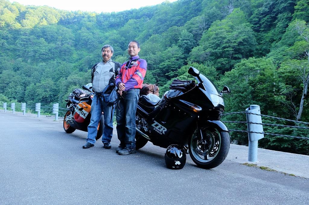 涼を求めて鳥海山ツーリングBy  Honda CBR1000RR_f0050534_14342654.jpg