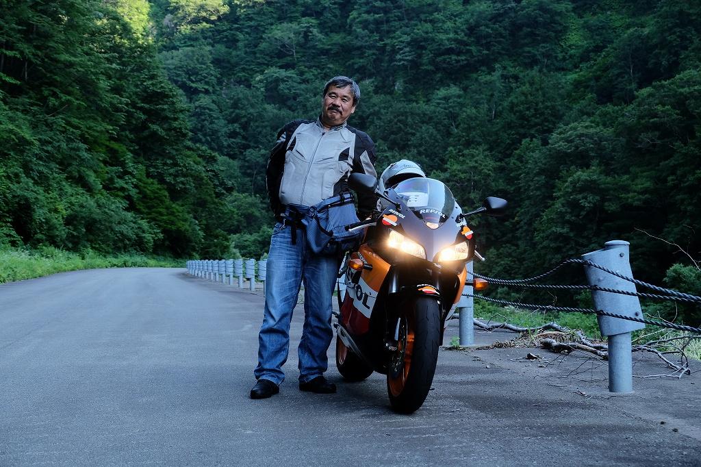 涼を求めて鳥海山ツーリングBy  Honda CBR1000RR_f0050534_14342665.jpg