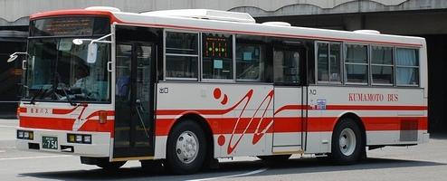 熊本バスの富士重工架装車_e0030537_053621.jpg