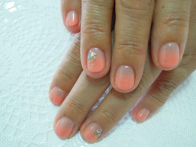 Coral Orange Nail_a0239065_1352838.jpg