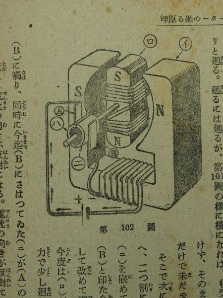 電池・コイル・モーターなど(少年技師の電気学)_c0164709_23062639.jpg