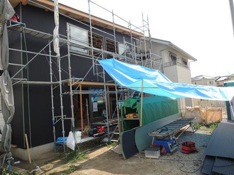 外壁工事追い込み_b0179213_19554352.jpg