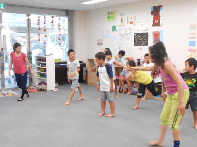 8月6日 ダンス教室_c0315913_09205219.jpg