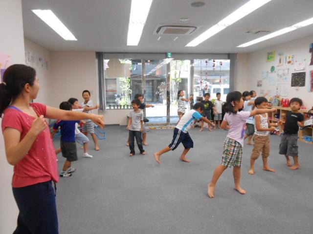 8月6日 ダンス教室_c0315913_09205254.jpg