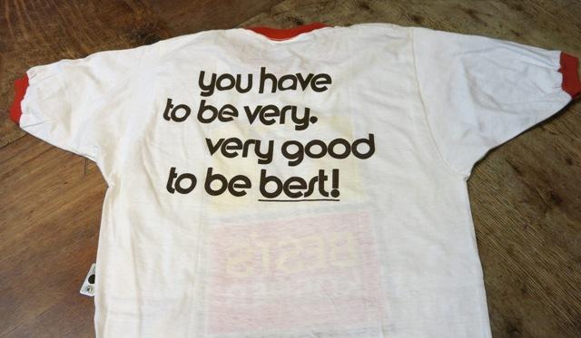 8月9日(土)入荷!70'S デッドストック 染込みプリント リンガーTシャツ!_c0144020_1864895.jpg
