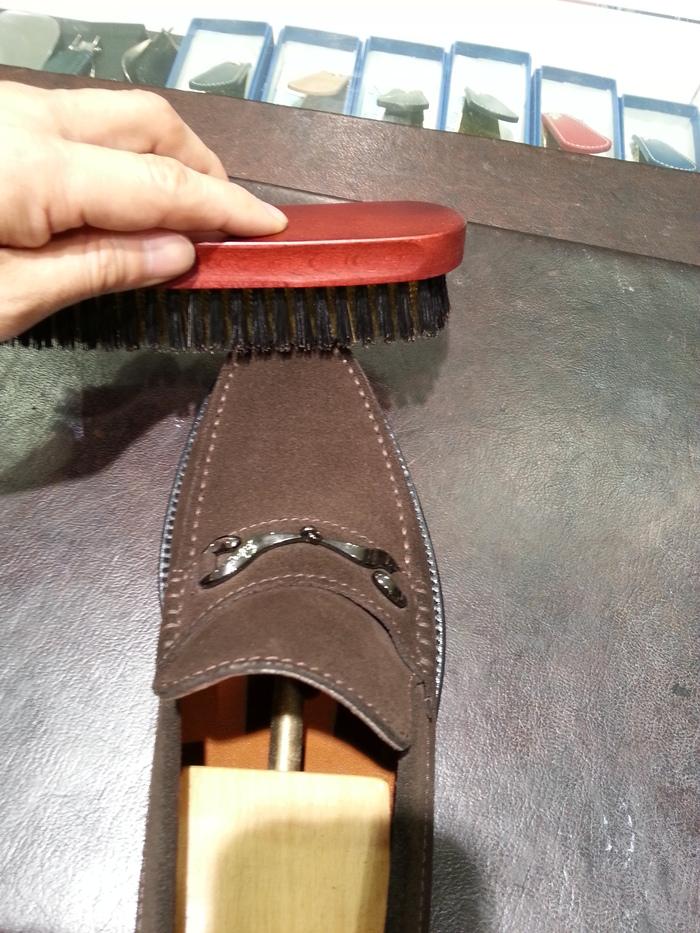 平野ブラシ本真鍮~スエード靴のお手入れに~_b0226322_14505373.jpg