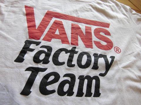 VANS×SD FACTORY TEAM T-SHIRTS_e0169535_1547319.jpg