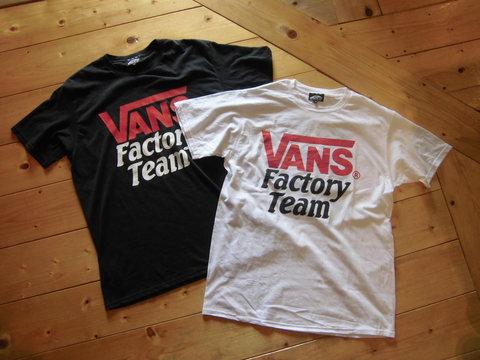 VANS×SD FACTORY TEAM T-SHIRTS_e0169535_15474374.jpg
